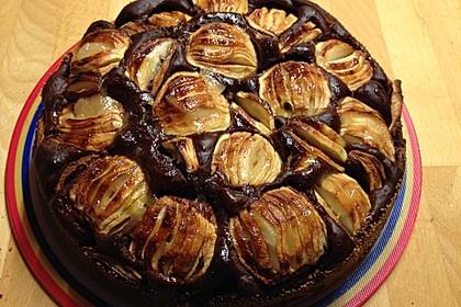Apfel - Schokoladen - Kuchen