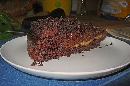 Schoko - Bananen - Kokos - Torte 1