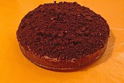 Schoko - Bananen - Kokos - Torte 8