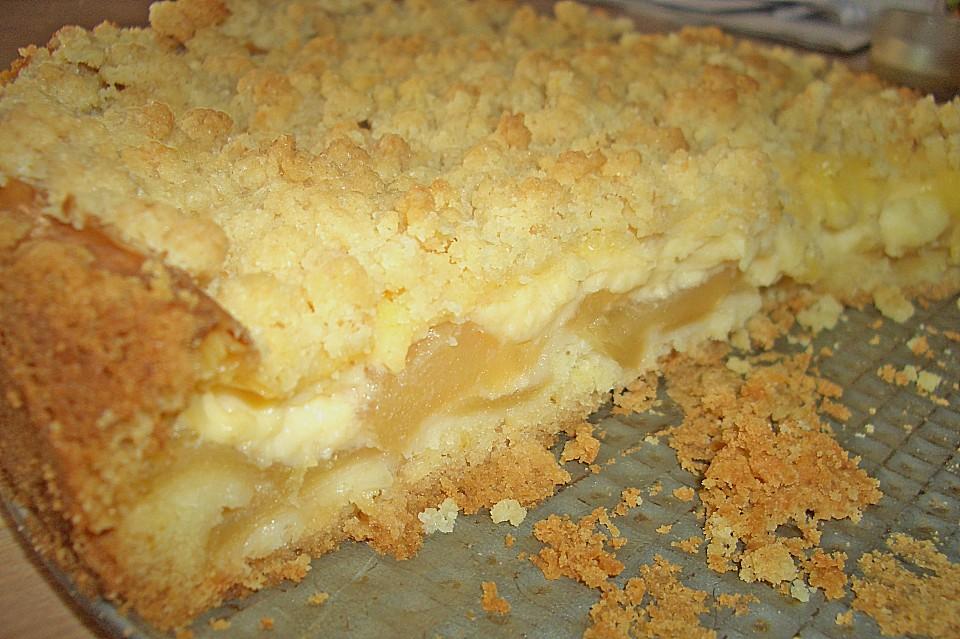 Pudding streusel kuchen blech