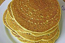 Pfannkuchen 'grüne Erbsen'