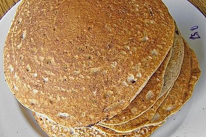 Pfannkuchen 'rote Bohnen'