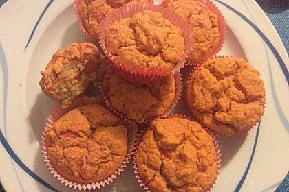 Muffins 'rote Linsen' 1