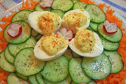 Gefüllte Eier - ganz klassisch 3