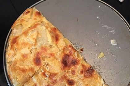 Flammkuchen elsässer Art, süßer Flammkuchen 47