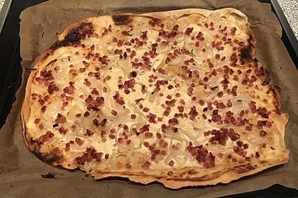 Flammkuchen elsässer Art, süßer Flammkuchen 25