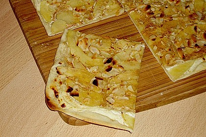 Flammkuchen Elsässer Art, süß oder herzhaft 9