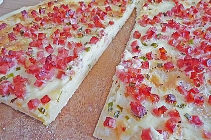 Flammkuchen Elsässer Art, süß oder herzhaft 17