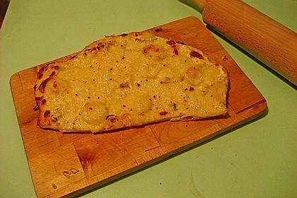 Flammkuchen elsässer Art, süßer Flammkuchen 54