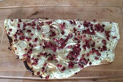 Flammkuchen elsässer Art, süßer Flammkuchen 50