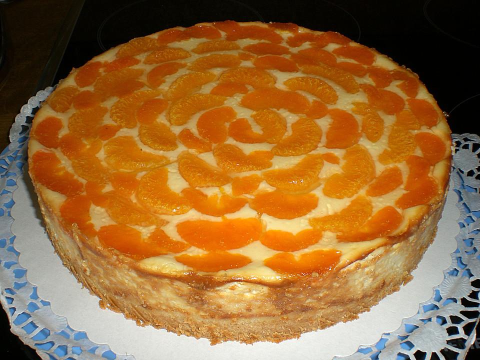 Mandarinen quark kuchen springform