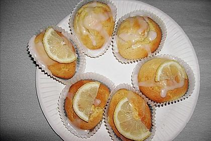 Lockere Zitronenmuffins 81
