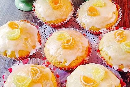 Lockere Zitronenmuffins 36