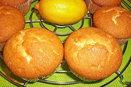Lockere Zitronenmuffins 46