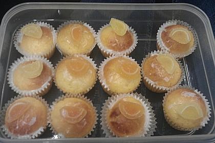Lockere Zitronenmuffins 43
