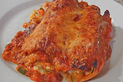 Cannelloni mit cremiger Gemüse-Käse-Füllung 23