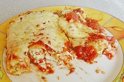 Cannelloni mit cremiger Gemüse-Käse-Füllung 32