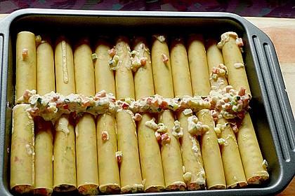 Cannelloni mit cremiger Gemüse-Käse-Füllung 12