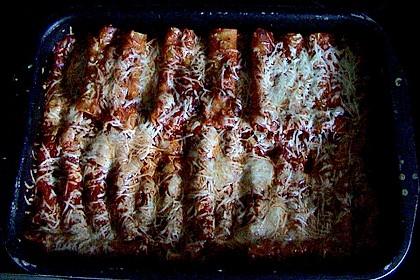 Cannelloni mit cremiger Gemüse-Käse-Füllung 64
