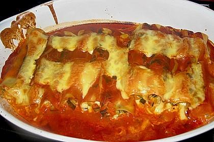 Cannelloni mit cremiger Gemüse-Käse-Füllung 29