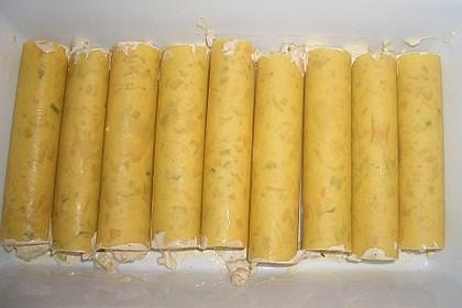 Cannelloni mit cremiger Gemüse-Käse-Füllung 47