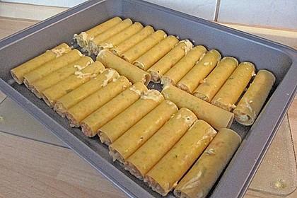 Cannelloni mit cremiger Gemüse-Käse-Füllung 56