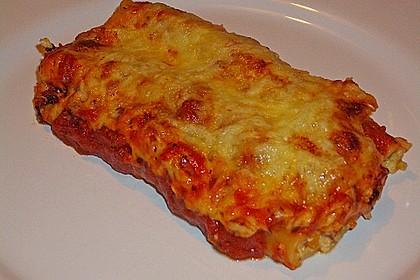 Cannelloni mit cremiger Gemüse-Käse-Füllung 7