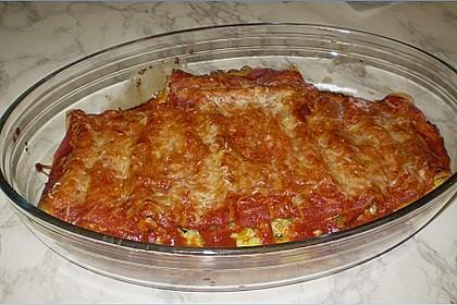 Cannelloni mit cremiger Gemüse-Käse-Füllung 52