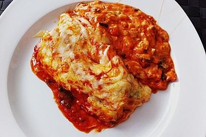 Cannelloni mit cremiger Gemüse-Käse-Füllung 24