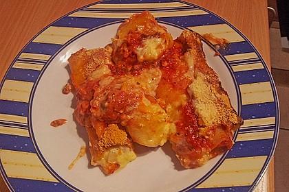Cannelloni mit cremiger Gemüse-Käse-Füllung 55