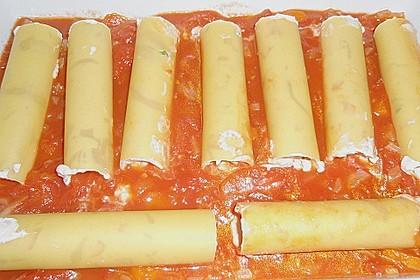 Cannelloni mit cremiger Gemüse-Käse-Füllung 37