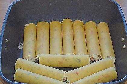 Cannelloni mit cremiger Gemüse-Käse-Füllung 54