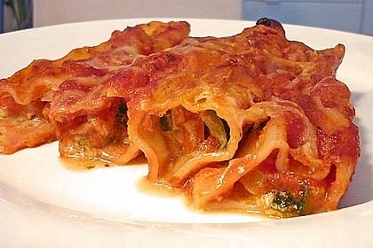 Cannelloni mit cremiger Gemüse-Käse-Füllung 4