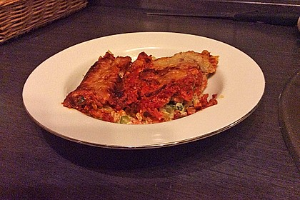 Cannelloni mit cremiger Gemüse-Käse-Füllung 46