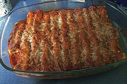 Cannelloni mit cremiger Gemüse-Käse-Füllung 57