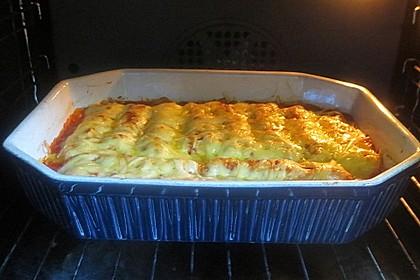 Cannelloni mit cremiger Gemüse-Käse-Füllung 10