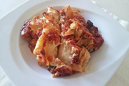 Cannelloni mit cremiger Gemüse-Käse-Füllung 13