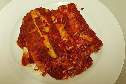 Cannelloni mit cremiger Gemüse-Käse-Füllung 9