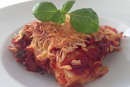 Cannelloni mit cremiger Gemüse-Käse-Füllung 1