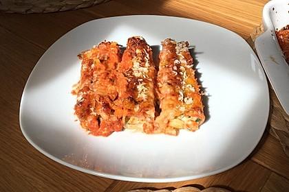 Cannelloni mit cremiger Gemüse-Käse-Füllung 14