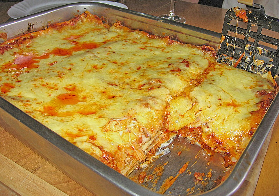 Lasagne Bolognese (Rezept mit Bild) von chefkoch | Chefkoch.de
