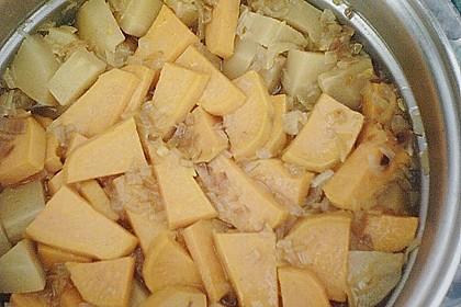 Pastinaken - Süßkartoffelsuppe 15