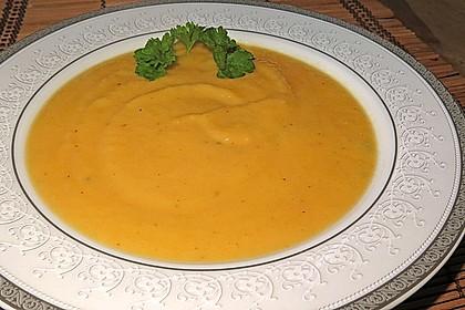 Pastinaken - Süßkartoffelsuppe 5