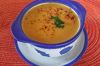 Pastinaken - Süßkartoffelsuppe 6
