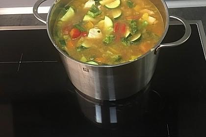 Gemüsesuppe oder auch Wundersuppe 4