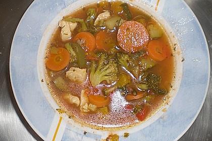 Gemüsesuppe oder auch Wundersuppe 3
