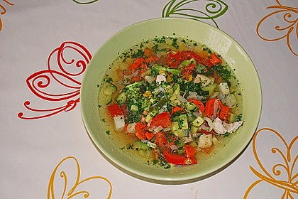 Gemüsesuppe oder auch Wundersuppe 1