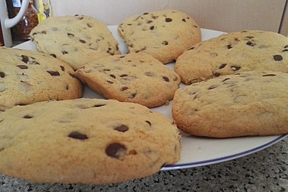 American Chocolate Chip Cookies 8