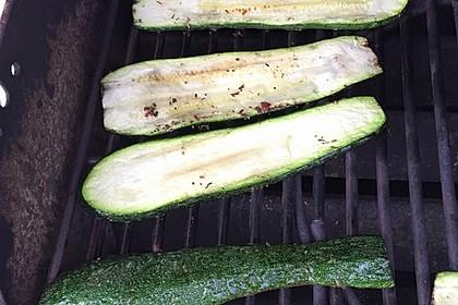 Gegrillte Zucchini 14