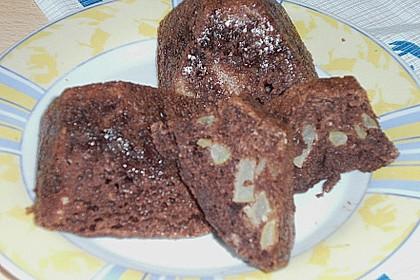 Apfel - Schokoladen - Muffins